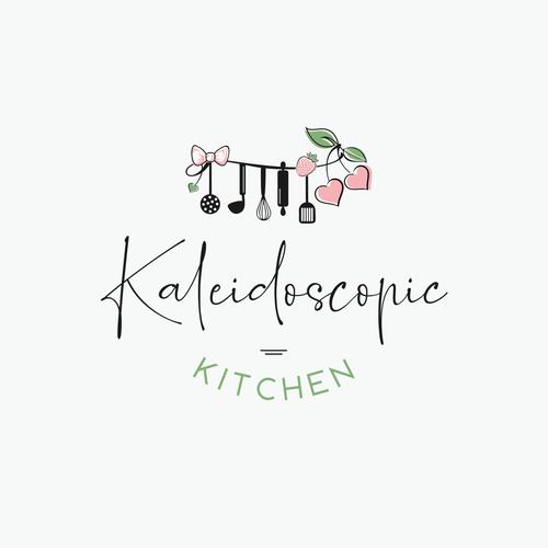Logo-Design für kreativen Foodblog