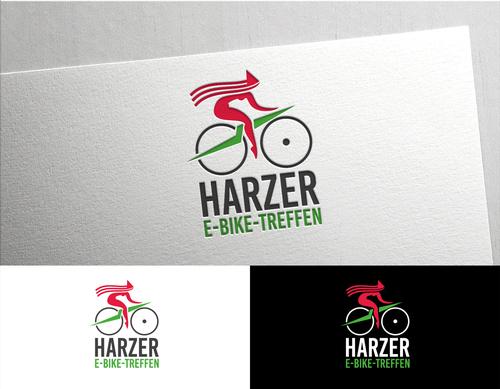 E-Bike-Treffen sucht Logo-Design mit neuer Hexe