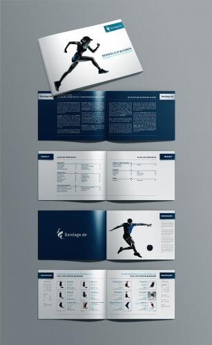 Beilege-Broschüre Online Versand Bandage.de