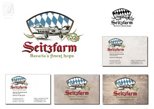 Logo-Design für Hopfenvertrieb