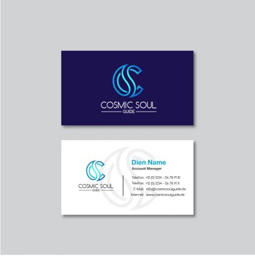 Logo & Visitenkarte für mediale Begleiterin
