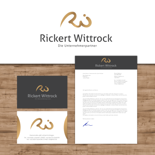 Logo-Businesscards-letter head for consulting company
