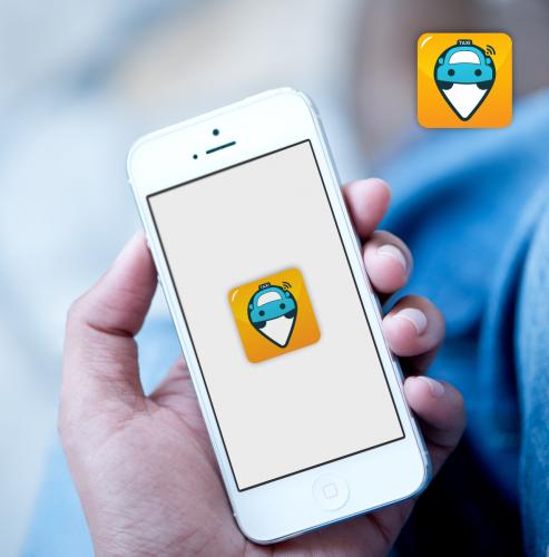 Icon-Design for Taxi App