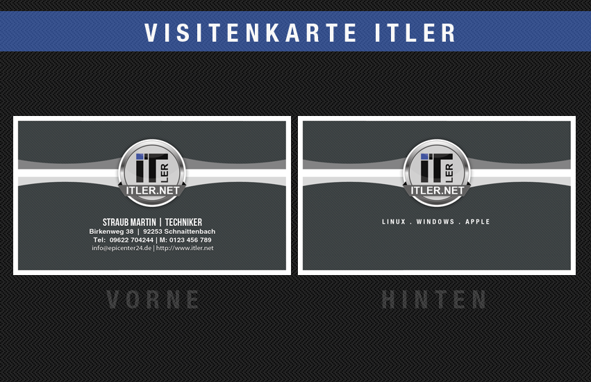 Visitenkarten Briefpapier Visitenkarten Design