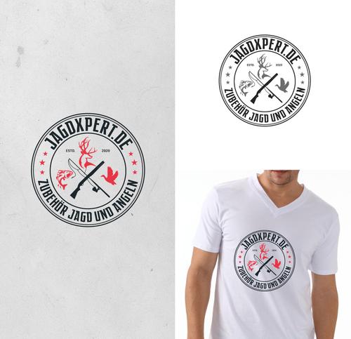 Logo-Design für Vertrieb von Jagd- und Angelprodukten