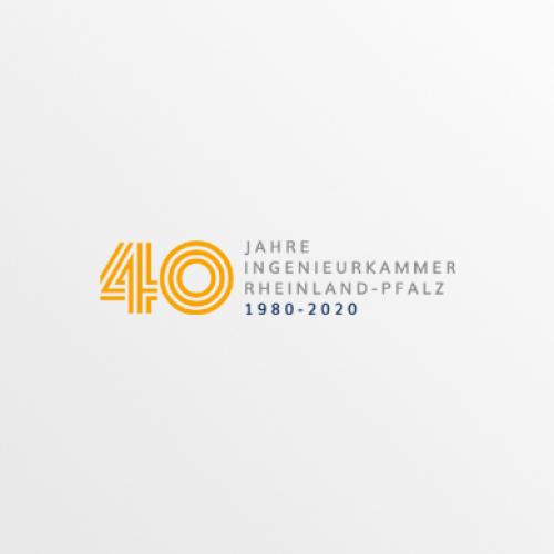 Logo-Design für Jubiläum der Ingenieurkammer