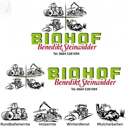 Logo-Design für Agrar Kommunal und Forstdienstleister