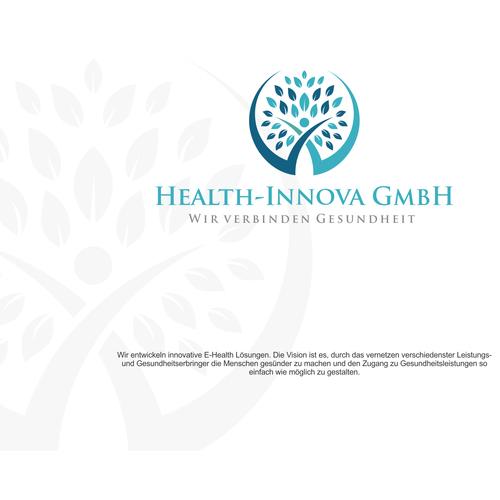 Logo-Design für die Entwicklung innovativer E-Health Lösungen