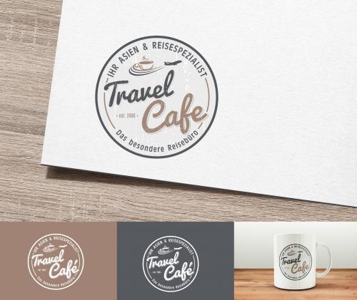 Logo-Design für Travel Café