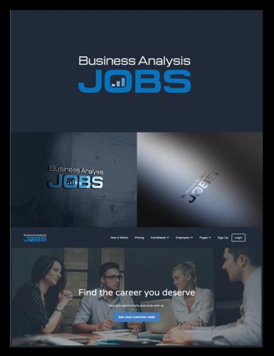 Logo-Design für Stellenangebote für Business Analysten