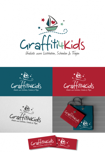 Logo-Design für graffiti4kids