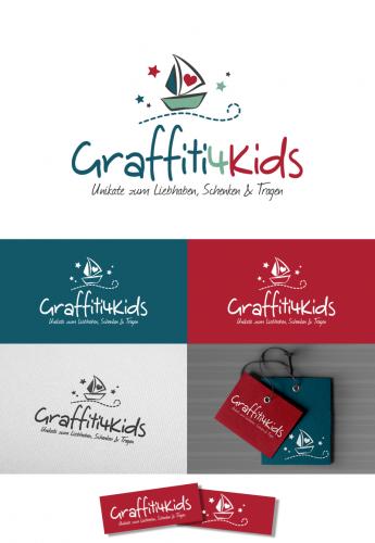 Logo-Design für graffiti4kids