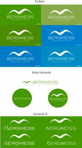 Logo-Design für Bergweiss