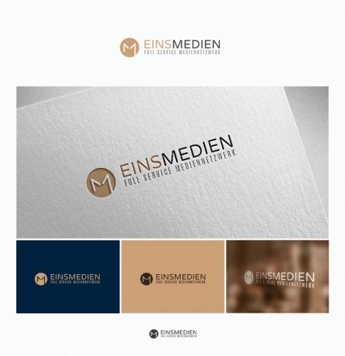 Logo-Design für die Eins Medien GmbH