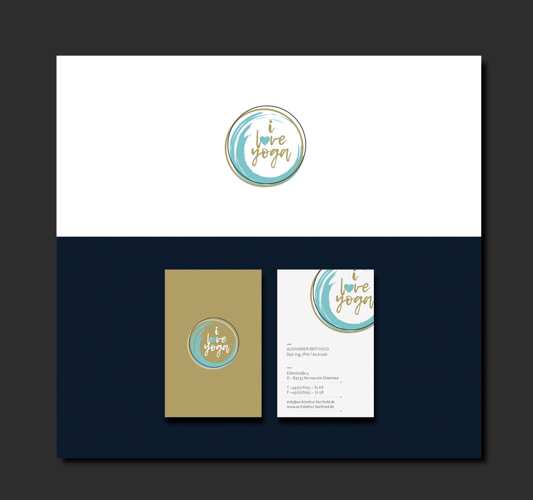 Logo-Design für Yogalehrerin