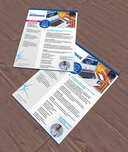 Salesblatt zu Facebook Webinaren für Geschäftspartner