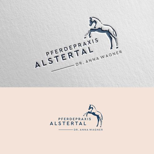 Logo-Design für Pferdepraxis