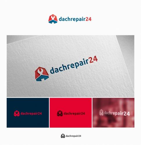 Logo-Design für Dachdecker/Dachreparaturservice