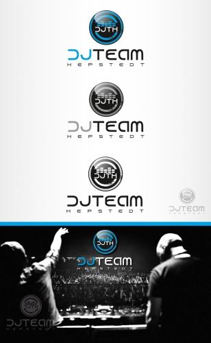 DJ-Team sucht Logo