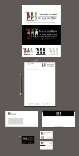 Logo-Design für moderne HNO-Arzt-Praxis