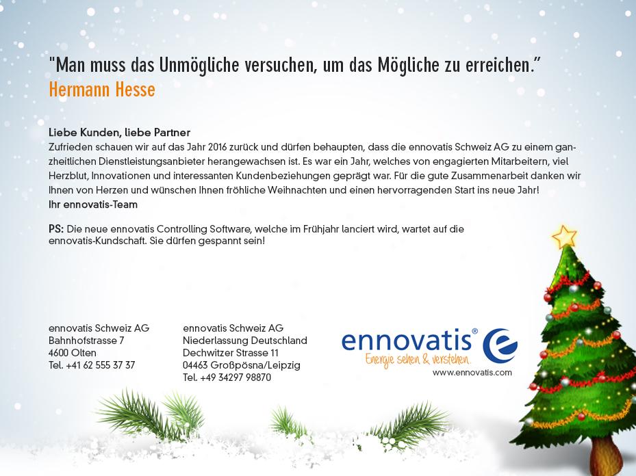 Hermann Hesse Weihnachten.Digitale Weihnachtskarte Für Energiemanagement F Webbanner