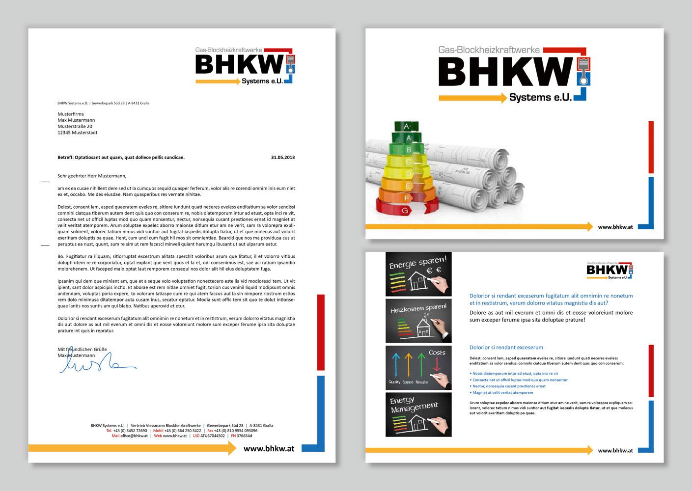 Corporate Design Briefpapier Und Powerpointvorl