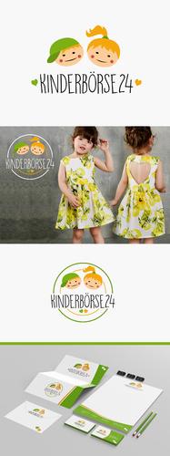 Corporate Design für Secondhand Baby- und Kinderkleidungs-Onlineshop