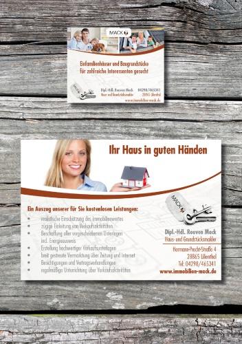 2 Zeitungsanzeigen für Immobilienmakler