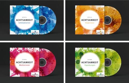 Cover für Achtsamkeits CDs