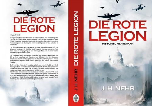 Buch- und E-Book-Cover für DIE ROTE LEGION