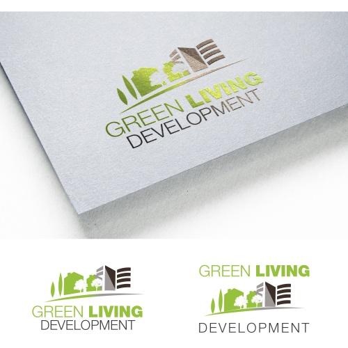 Logo-Design für Green Living Development