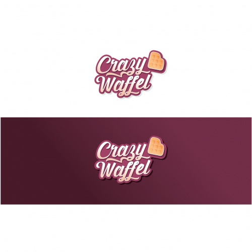 Logo-Design für leckere Waffeln