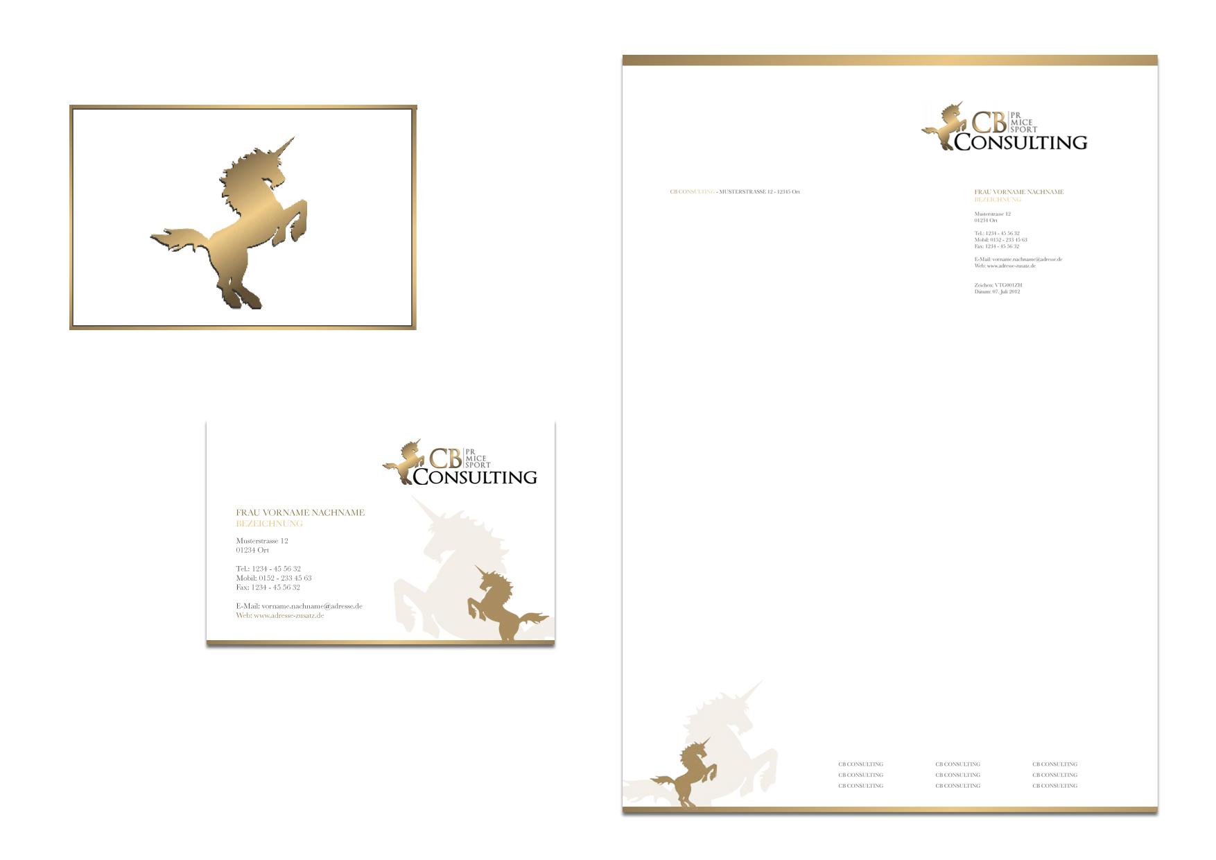 briefpapier business cards power point folie business card