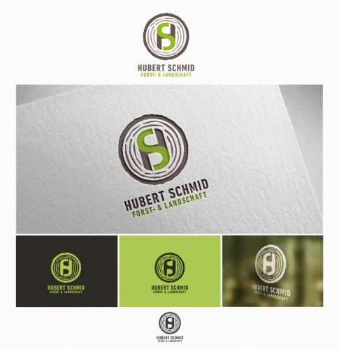 Logo & Visitenkarte für Forst- und Landschafts-Service