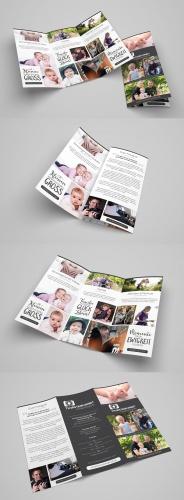 Flyer-Design für den Bereich Familienfotografie