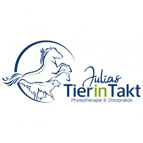Logo-Design für Tierphysiotherapeut und Chiropraktiker Pferd&Hund