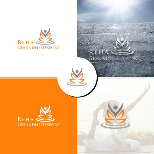 Modernes und zeitloses Logo-Design für Reha- und Gesundheitssport