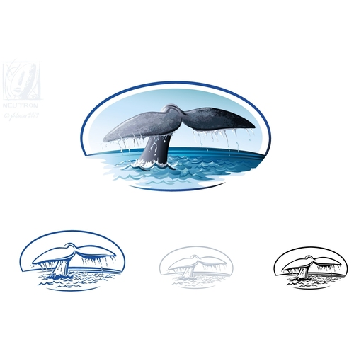 Logo-Design für Tauchschule