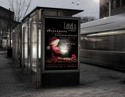 Poster für Kindermode 0-14 Jahre