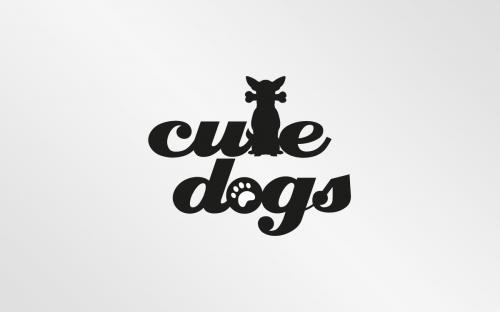 Logo-Design für Cute Dogs