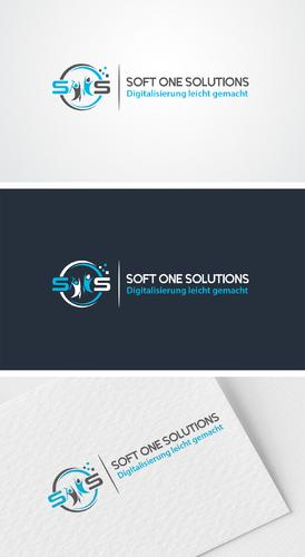 Logo-Design Softwareentwickler für Pflegeheime