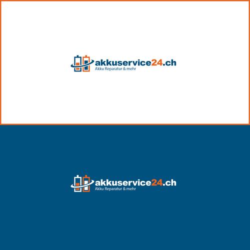 Logo-Design für Batterie Service