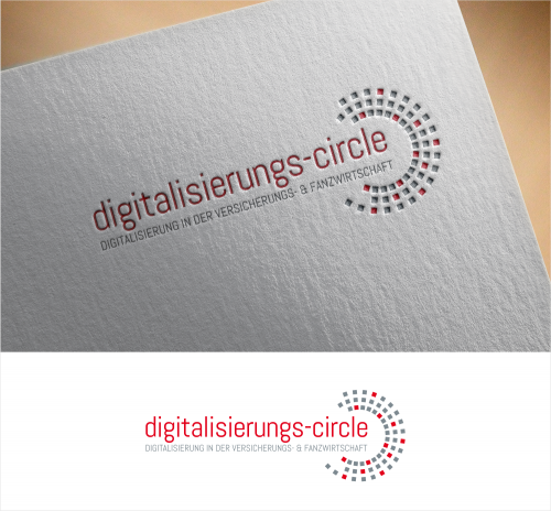 Logo-Design für Digitalisierungs-Circle