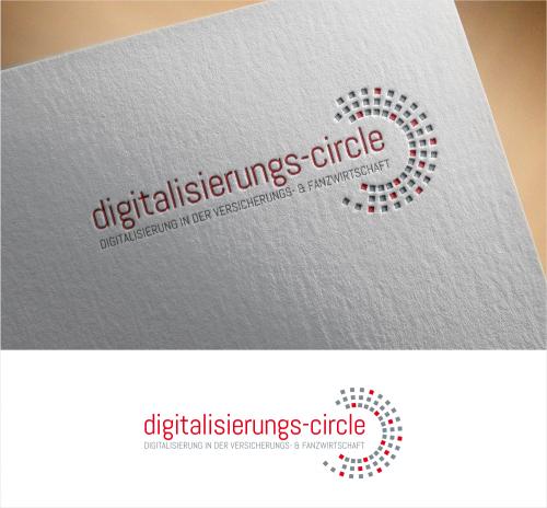 Logo-Design für Digitalisierungs-Circle