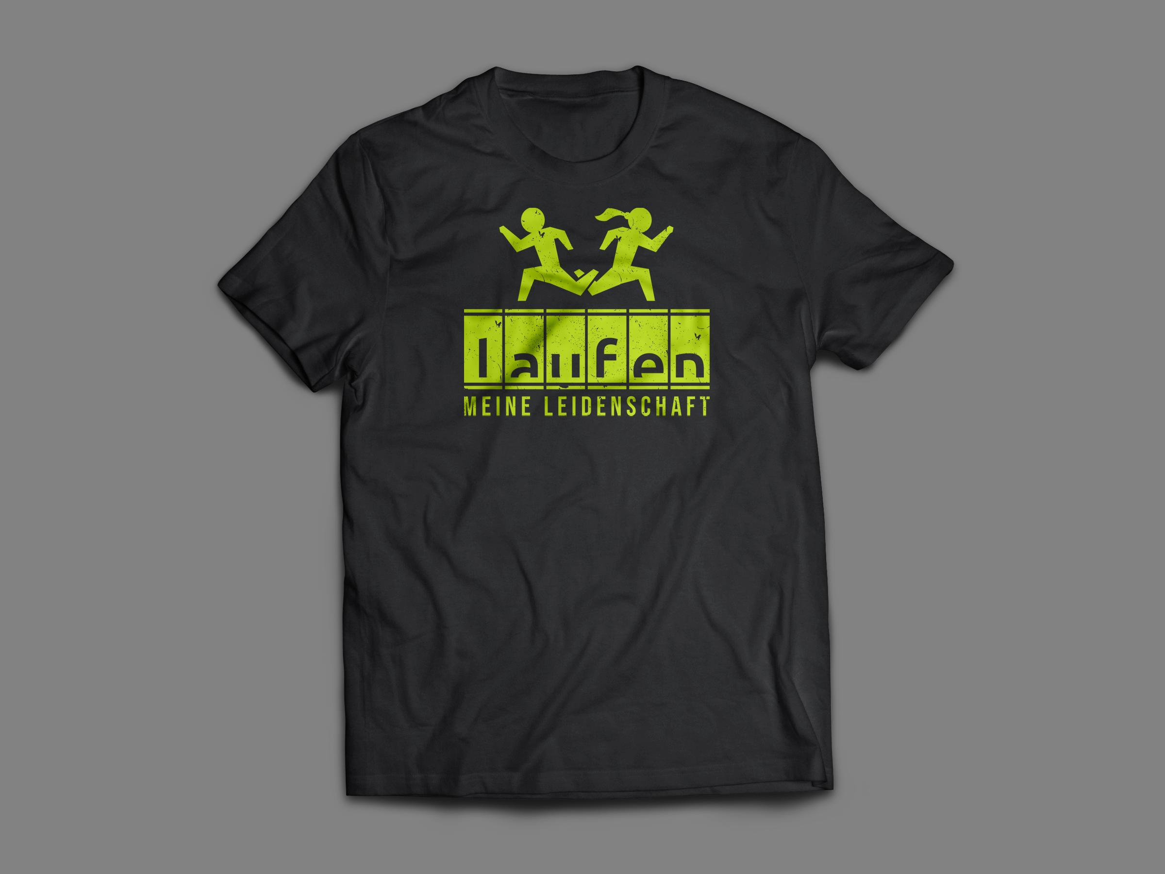 T-Shirt sucht sportliches Motiv