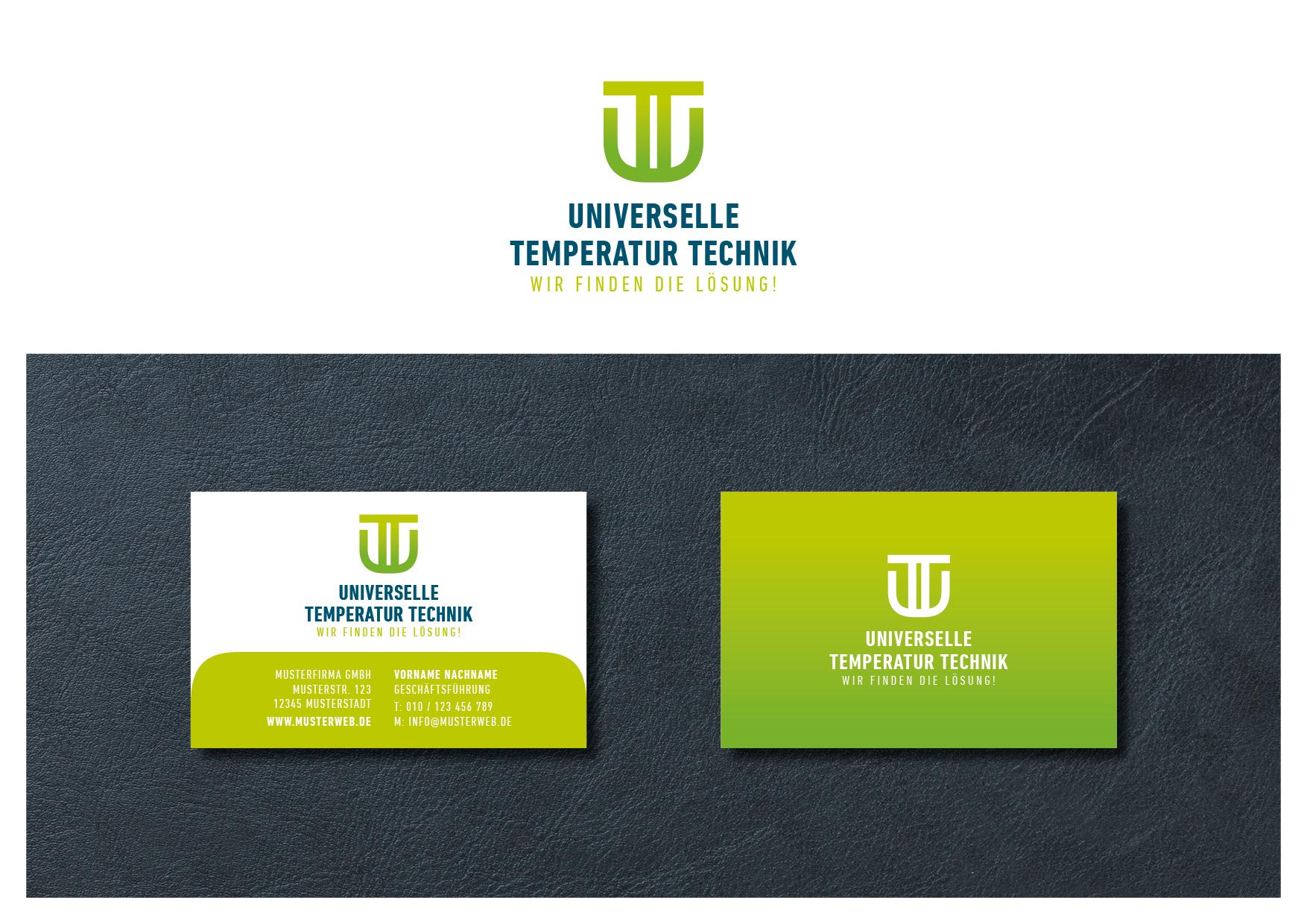 Logo Visitenkarte Für Hersteller Von Tempe Logo