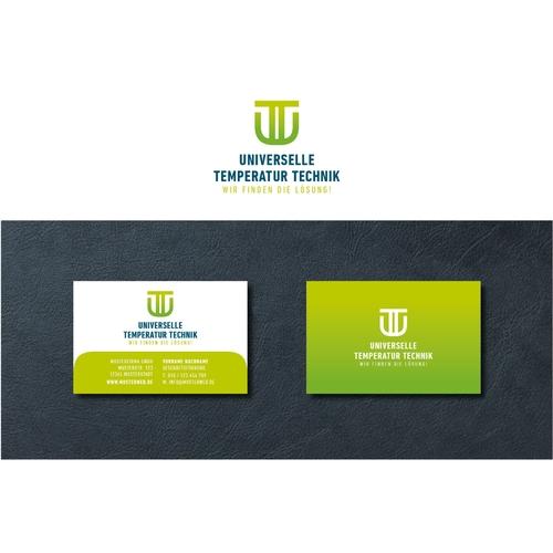 Logo & Visitenkarte für Hersteller von Temperatursensoren