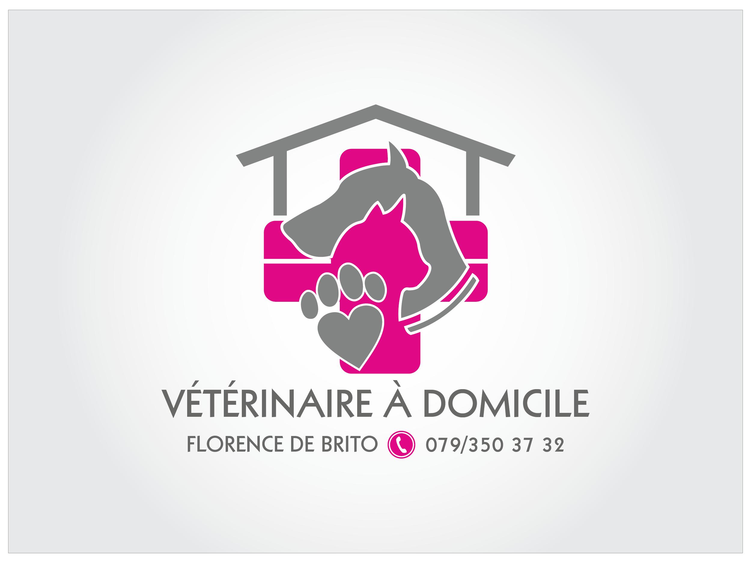 Vétérinaire à domicile » Logo & cartes de visite » designonclick.fr