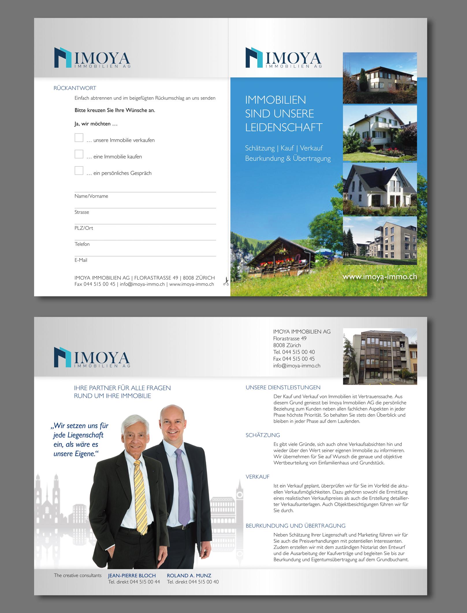 Werbe Flyer an Hausbesitzer