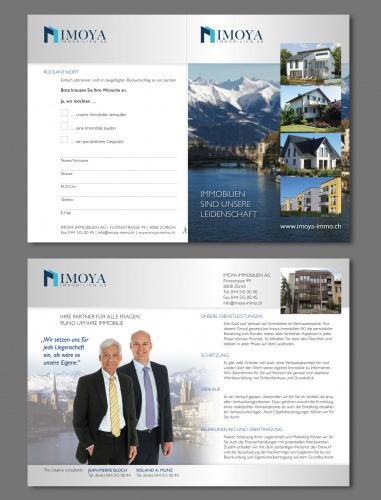 Flyer publicitaire pour propriétaires de maisons